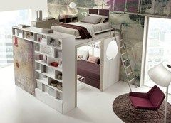 Teenage bedroom TIRAMOLLA 173 Tiramolla Collection by TUMIDEI | design Marelli e Molteni