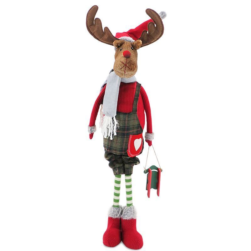 National Tree Company 36-in Standing Moose Christmas Decor - moose christmas decorations