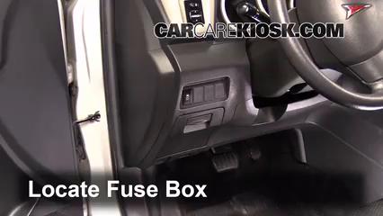 interior fuse box location: 2009-2010 pontiac vibe 2009 pontiac vibe 1.8l 4  cyl. | pontiac vibe, pontiac, fuse box  pinterest