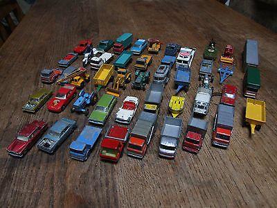 Vintage Diecast Vehicle Lot 2 Lesney Matchbox X46 Ford MG Mercedes VW Camper Van - http://www.matchbox-lesney.com/42277