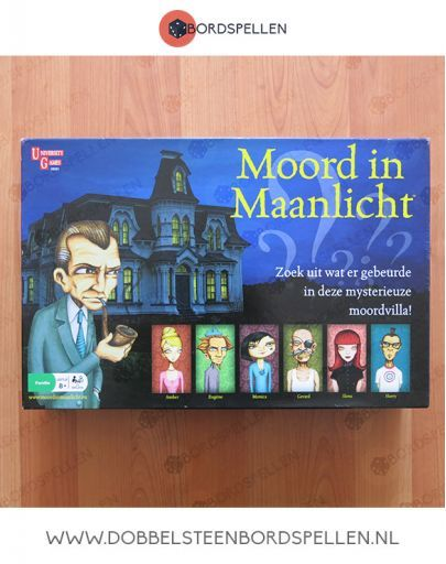 Moord in maanlicht - university Games