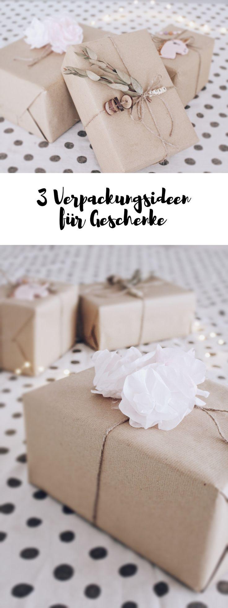 Diy Geschenke Verpacken 3 Kreative Ideen Um Geschenke Zu Verpacken