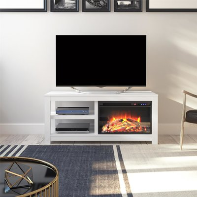 Winston Porter Aldo Tv Stand For Tvs Up To 50 Inches With Electric