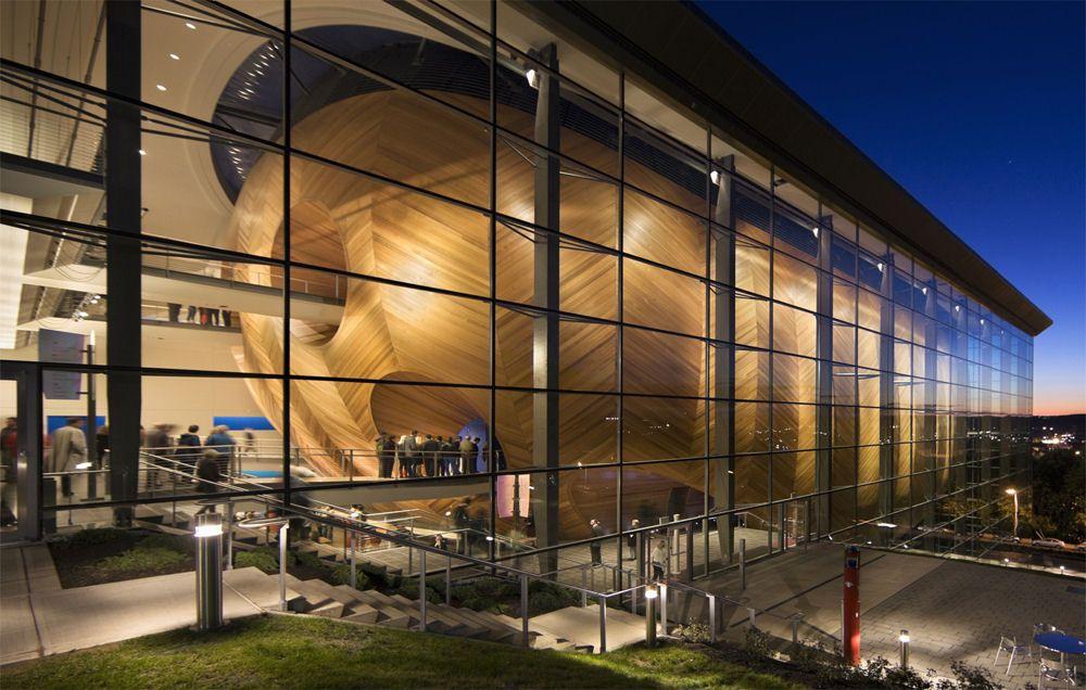 Experimetal Media & Performing Arts Center Grimshaw   Architecture. Performing arts center. Performance art