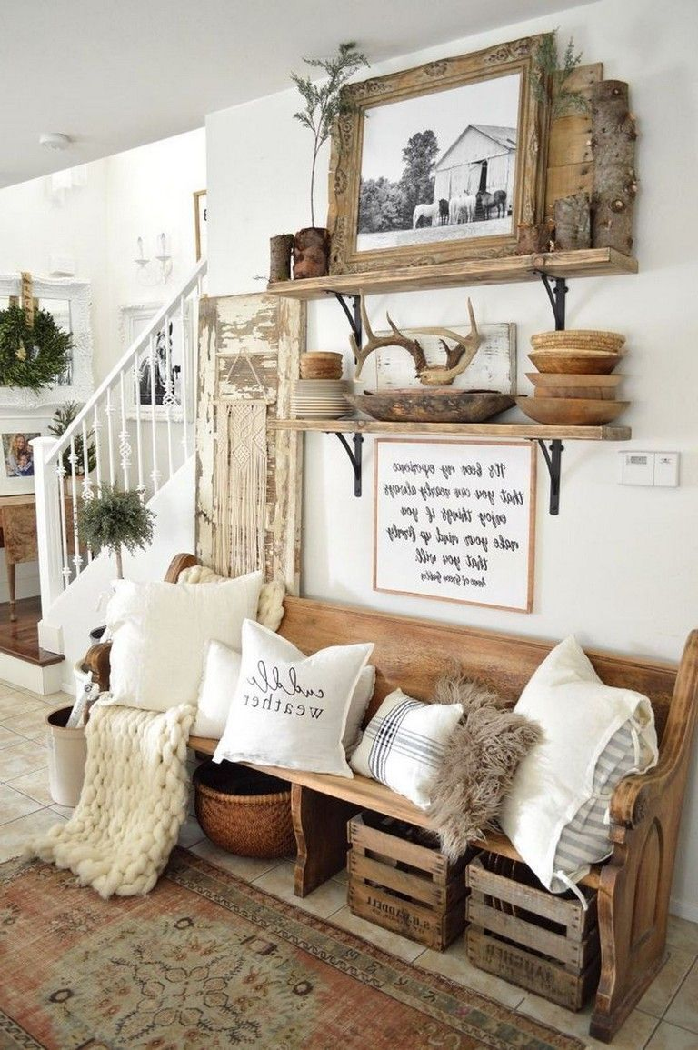 28 Amazing Traditional Farmhouse Decor Ideas For Your Entire House Farm House Living Room Home Decor Rustic Living Room
