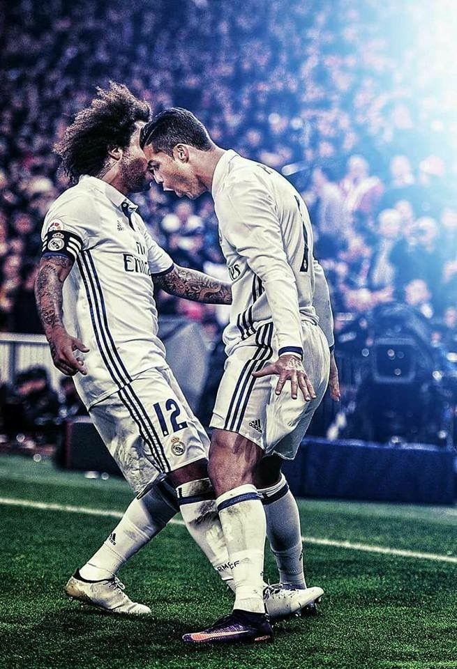 CR7 and M12 lockscreen Real Madrid Pinterest Real
