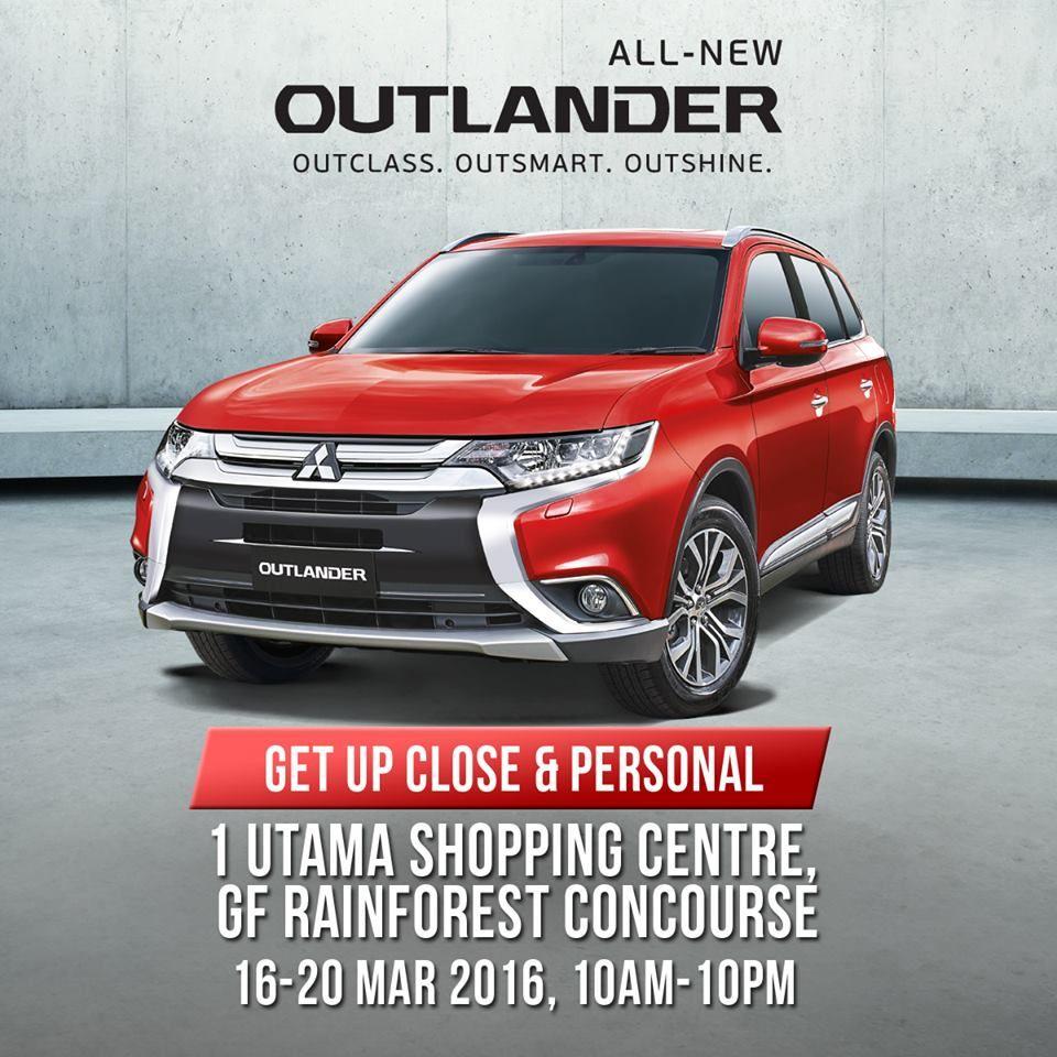 Mitsubishi 7 Seater: Mitsubishi All-New Outlander Roadshow In Malaysia (With