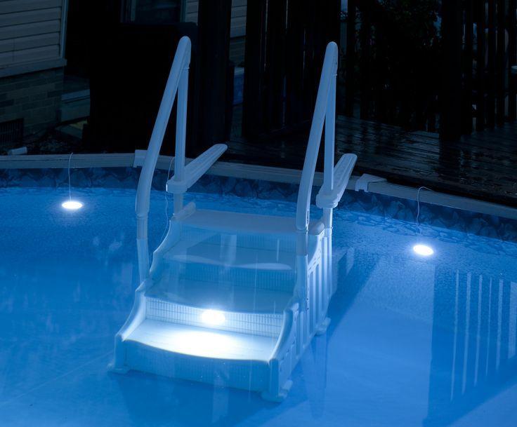 Backyard swimming pool underwater lighting | Pool | Swimming ...