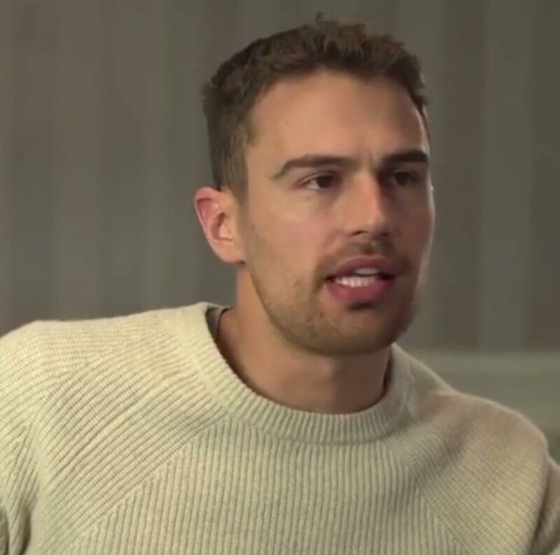 theo james talks about shailene