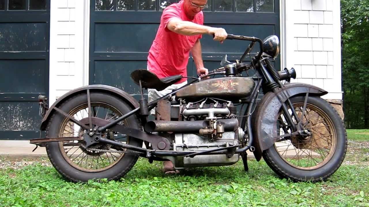 1928 Henderson Deluxe Antique Motorcycle Running Antique Motorcycles Motorcycle Henderson Motorcycle