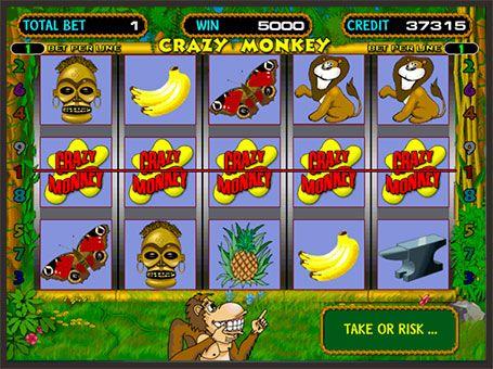 Crazy monkey 2 ігровий автомат виробник