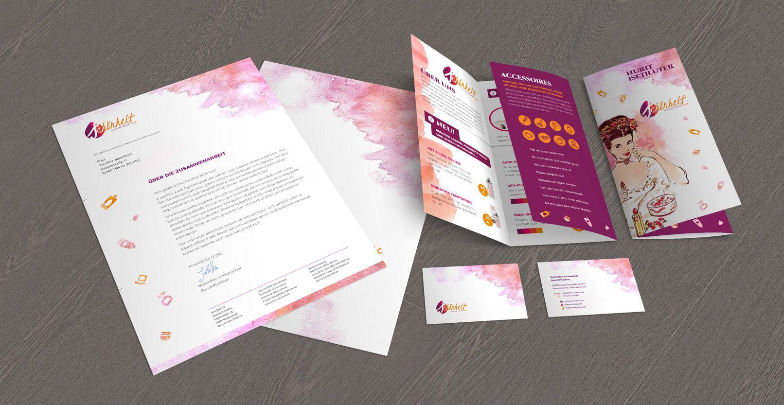 Vorlagen Zur Werbung Für Friseure Wellness Visitenkarten