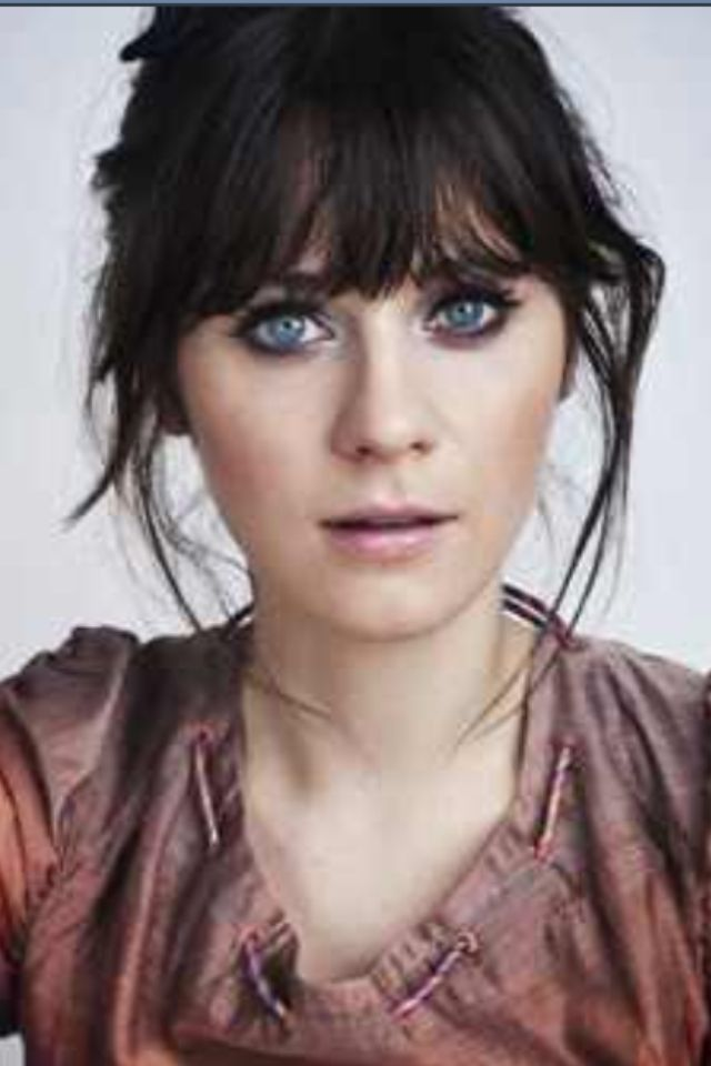 Zooey Deschanel Hair Layers The 25+ best Zooey des...