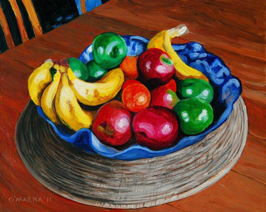Bowl Of Fruit Art