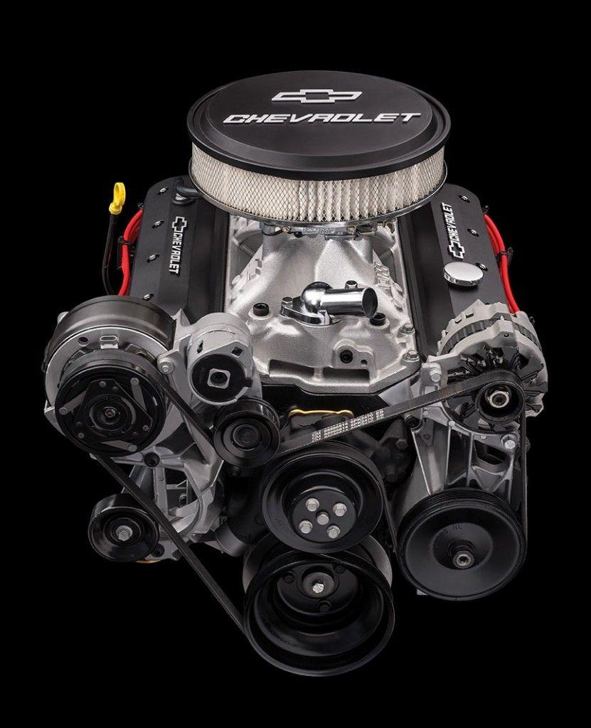 Chevrolet zz6 small block v8 crate engine