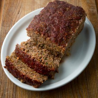 recipe: venison meatloaf with oatmeal [1]