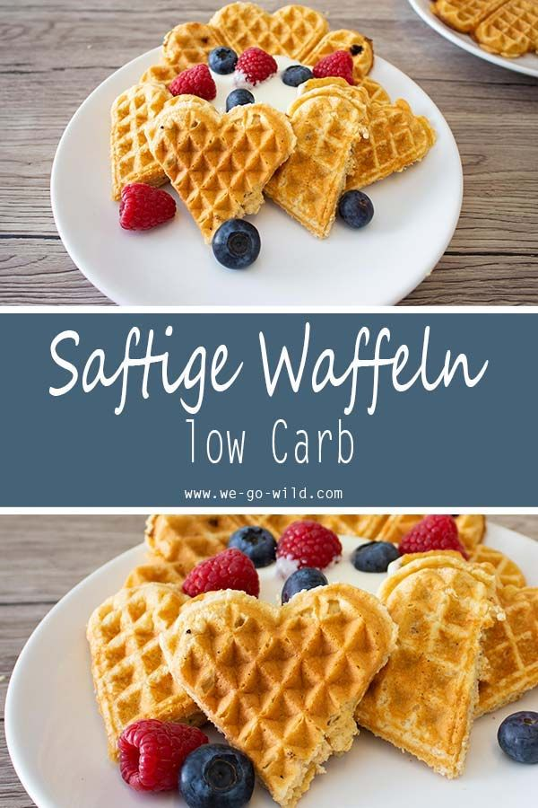 Photo of Low carb waffles: the most delicious waffle recipe ever!