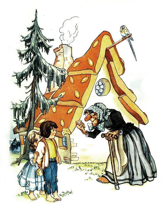 hänsel und gretel ruth kosermichaëls  fairytale art