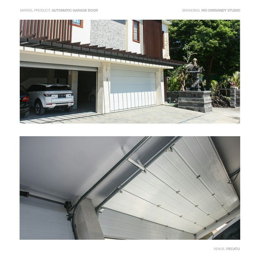 Automatic Garage Door From Marvel Home Interior Is Very Convenient