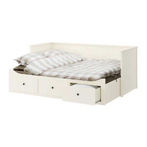 427 hemnes structure divan avec 3 tiroirs blanc moshult ferme ikea kid 39 s bedroom. Black Bedroom Furniture Sets. Home Design Ideas