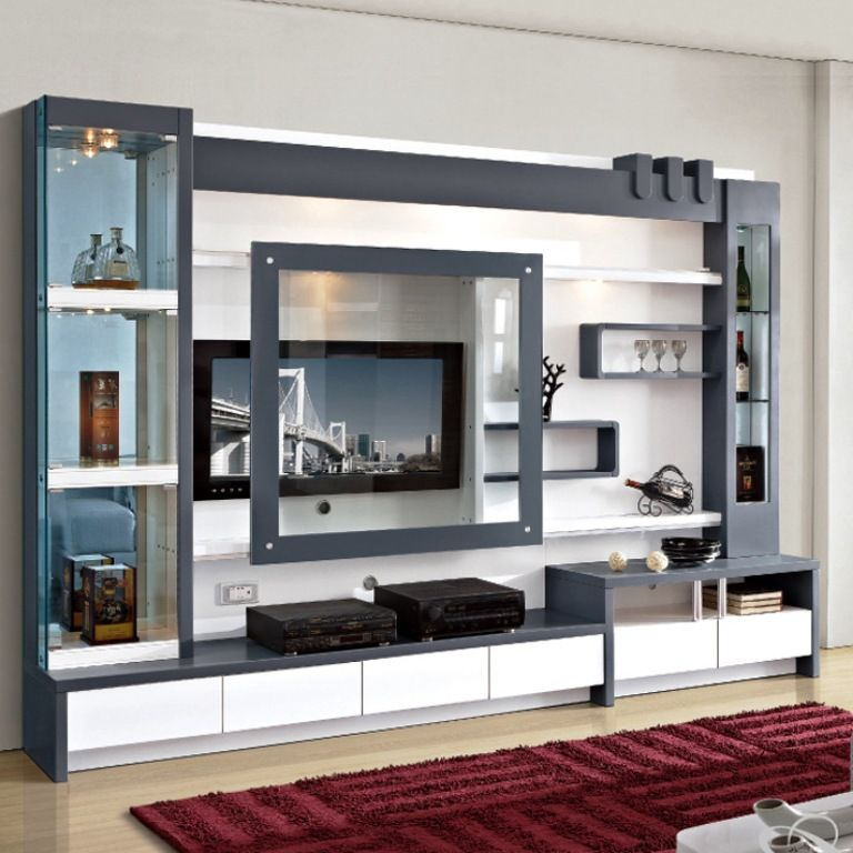 Tv Unit Designs In The Living Room Built In Wall Units Wall