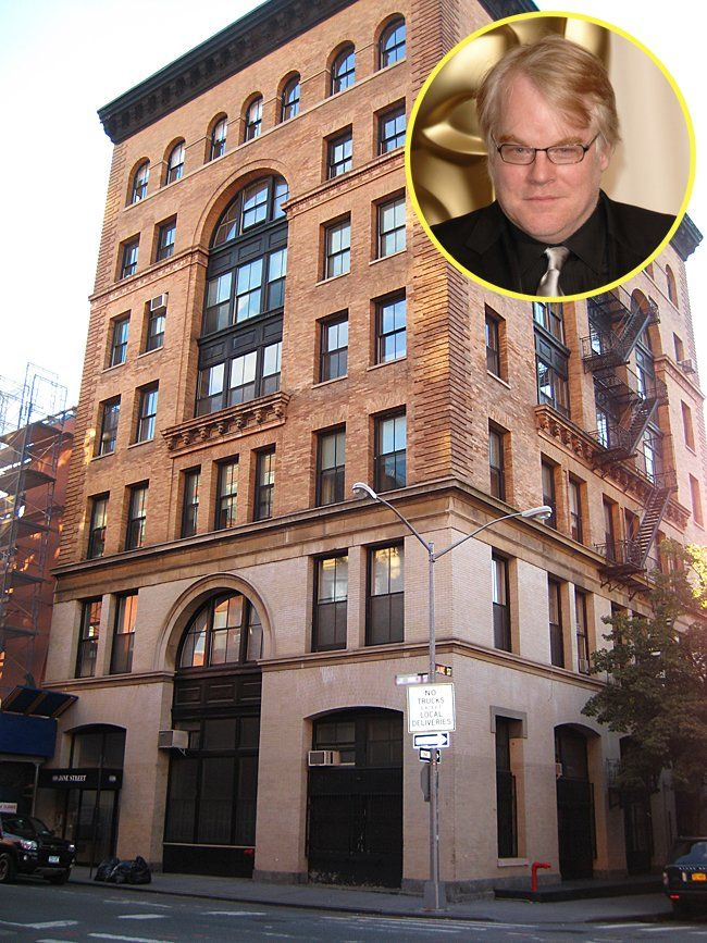 Phillip Seymour Hoffman is another Jane Street resident
