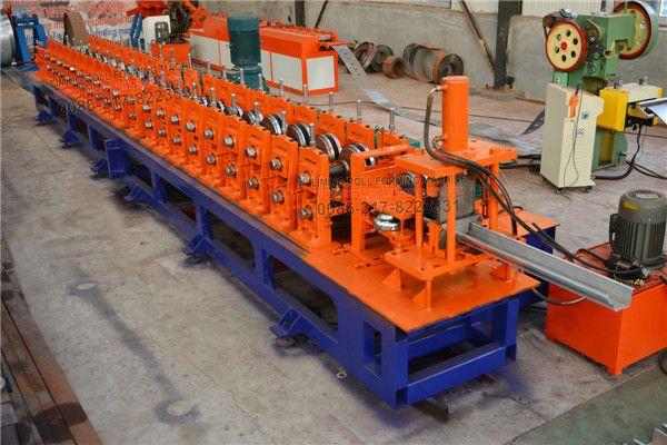 Gear Box Drive Gutter Roll Forming Machine Roll Forming Gutter Steel