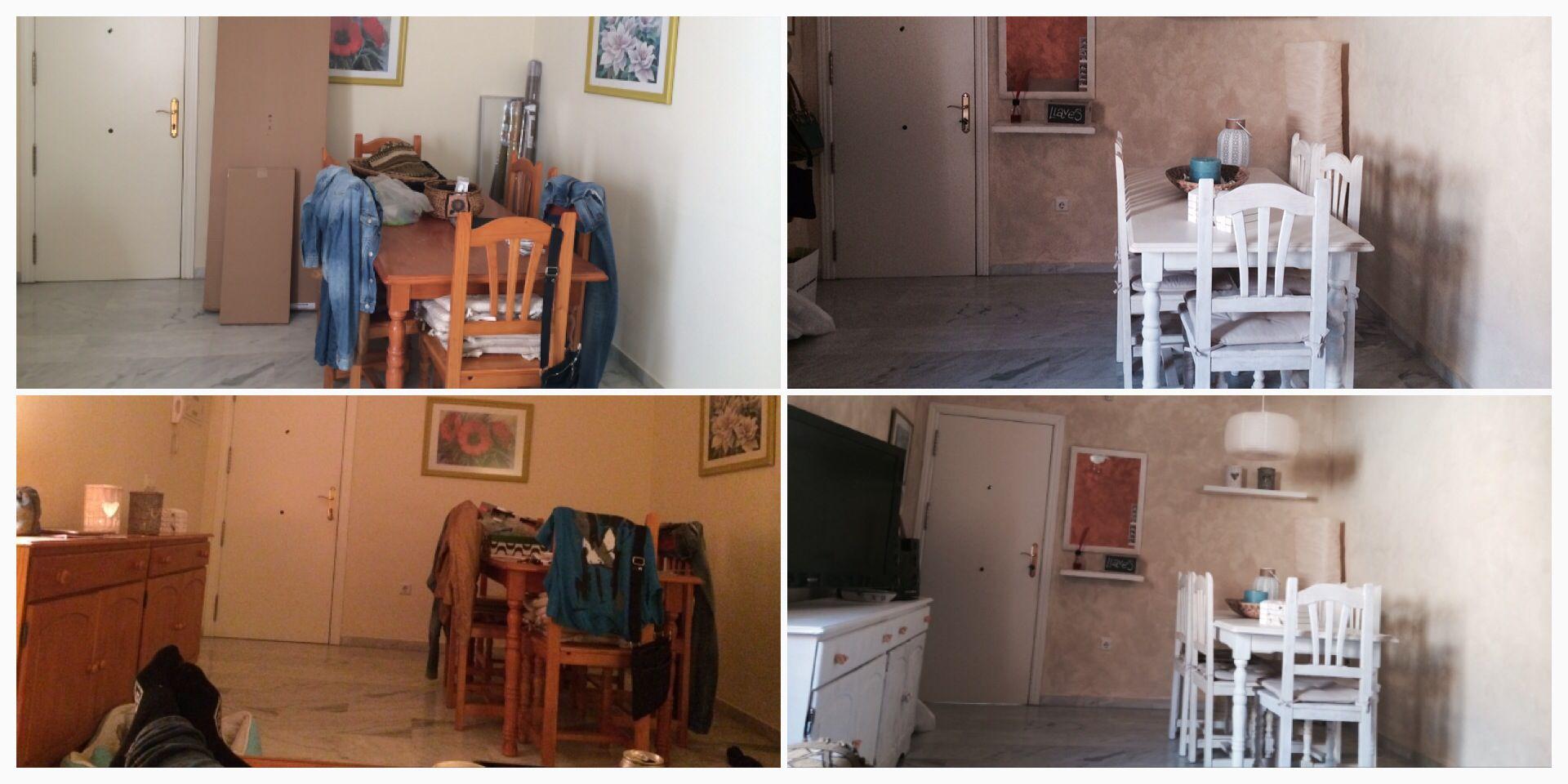 #Reforma #salón #livingroom #antesydespúes