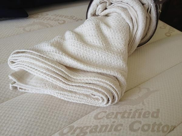 Certified Organic Cotton Blankets Soft And Warm In Several Styles And Sizes  For Your Organic Bedroom