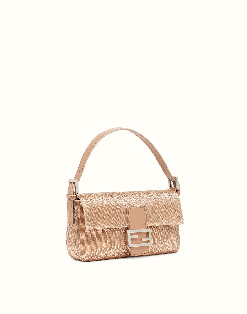 33aa80d33da7 ... official fendi baguette pink leather bag view 2 detail 41d60 87c15