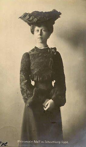 Prinzessin Viktoria von Schaumburg- Lippe, geborene Prinzessin von Preussen 1866 - 1929
