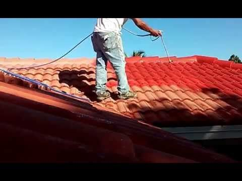 Spray Techniques How Painting Roof Shingles How To Painting A