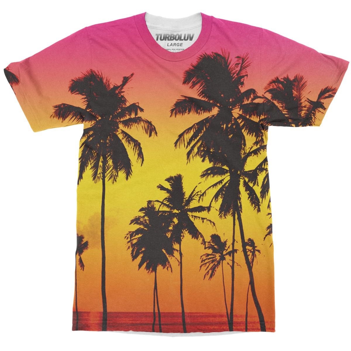 Sunset beach t shirt from turboluv t shirts shirts and for T shirt printing near me