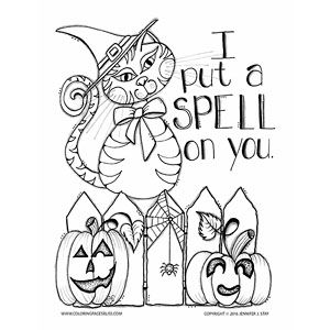Adult Coloring Pages Halloween Coloring Pages Witch Coloring
