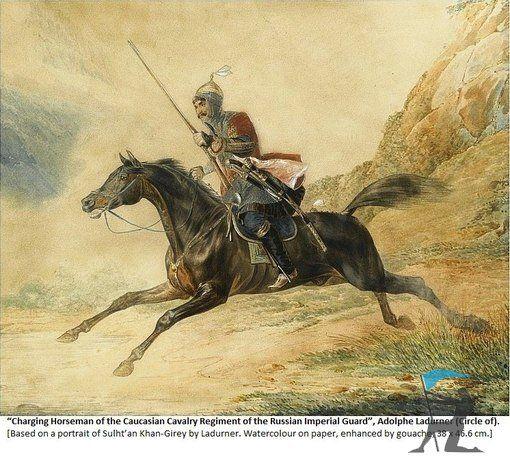 Circassian Cherkess Kabardin Cavalry
