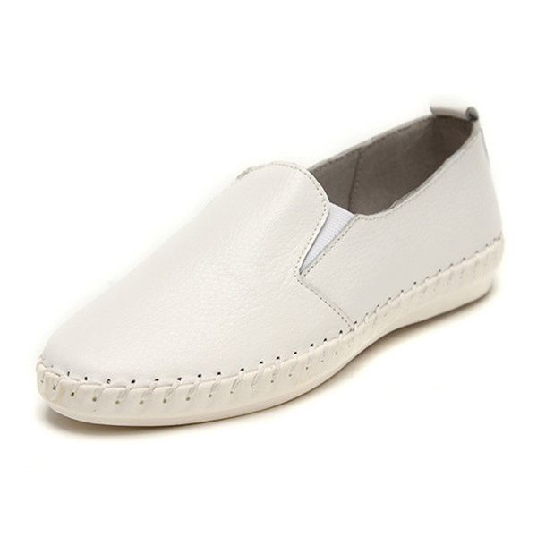 Sale    Women Spring Casual Flat Shoes Slip On Loafers