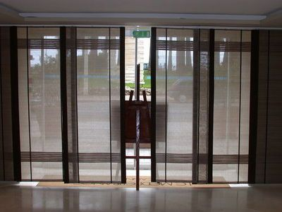 Pietro Seminelli Japanese Panel Pietro Seminelli Panneaux Abaca Patio Doors Panel Doors Sliding Patio Doors