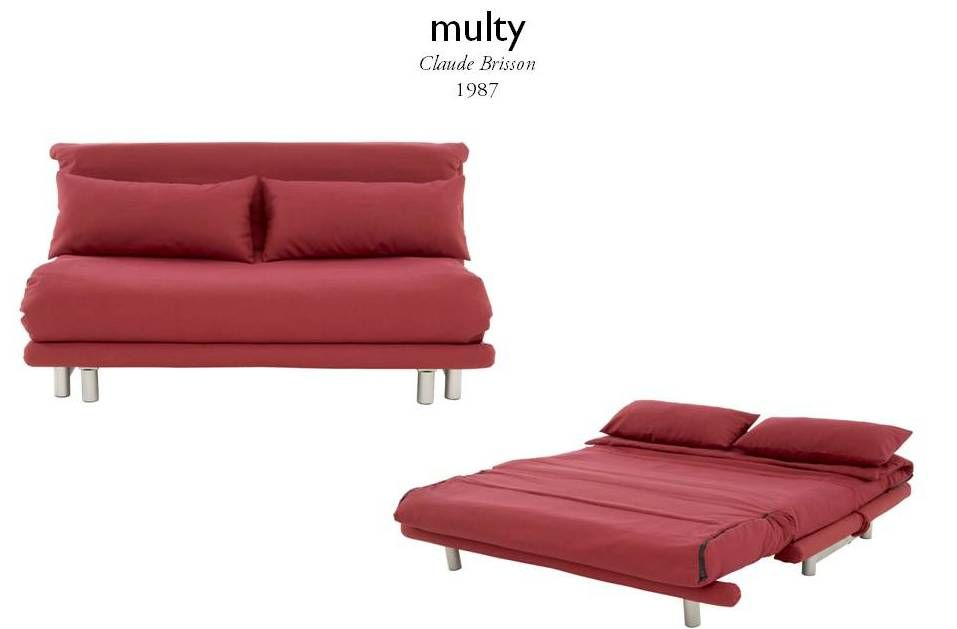 Ligne Roset Multy Slaapbank.Multy By Claude Brisson Hering