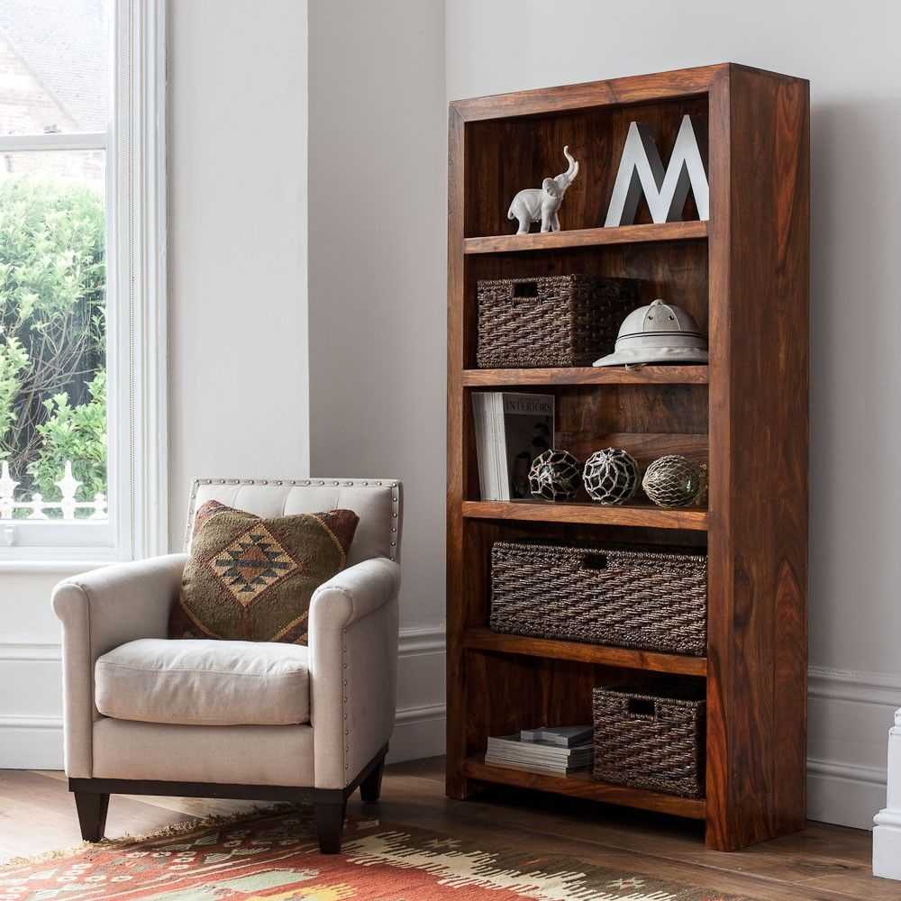 Mandir Sheesham Tall Bookcase - Mandir Sheesham Tall Bookcase Mi Casa Pinterest Front Rooms