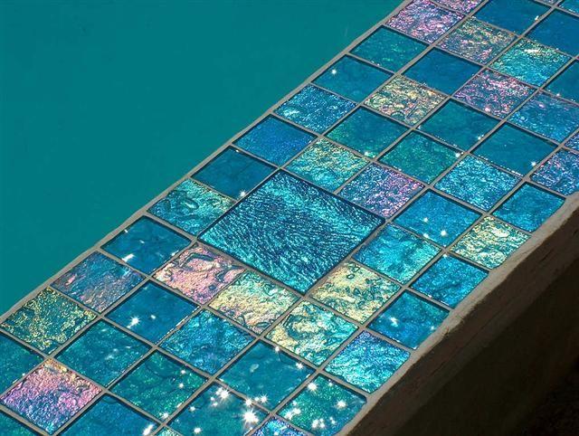 lightstreams glass pool tile aqua