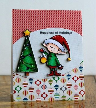 Christmas Celebration Cards Happiest of Holidays by Chitra Nair