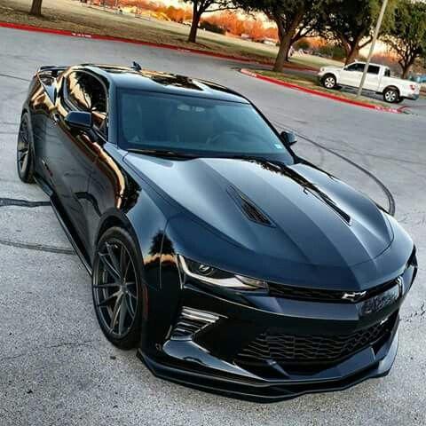 2017 Black Camaro Ss