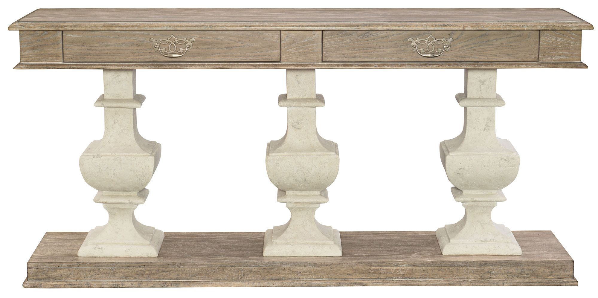 Console Table Pedestals Top And Base Bernhardt With Images