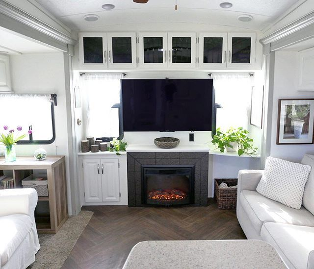 Welcome Home! RV renovations are complete  Check out blog