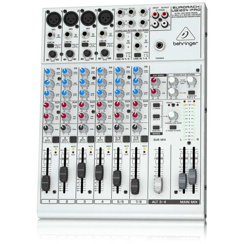 BEHRINGER EURORACK UB1204-PRO - 8-channel mixer ($100