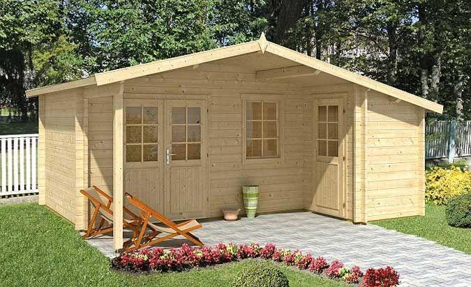 Gartenhaus mit 2 Räumen: Vielfältige Nutzungsmöglichkeiten