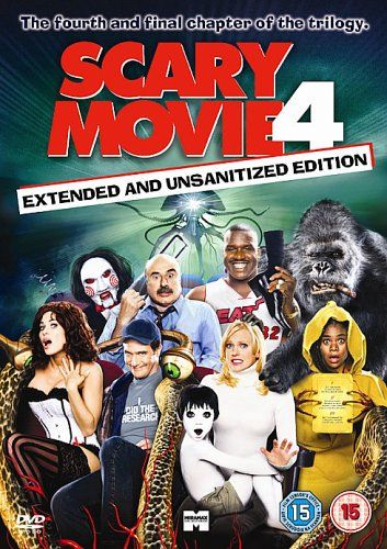 Scary Movie 4 Dvd In 2019 Scary Movie 4 Streaming Movies