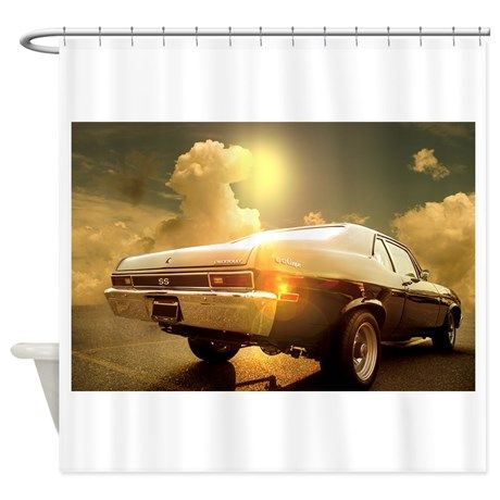 Chevy Nova Shower Curtain