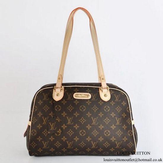 f3b4266c3a75 Louis Vuitton M95566 Montorgueil GM Shoulder Bag Monogram Canvas ...