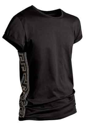 versace for h \u0026 m men black studded t shirt size xl sold out (very  versace for h \u0026 m men black studded t shirt
